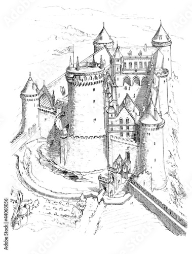Medieval Castle_13th century