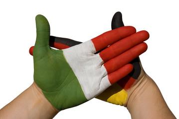 Italien und Deutschland partnerschaftlich