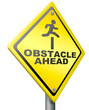obstacle ahead