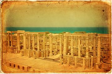 Teatro romano di Leptis Magna - Libia