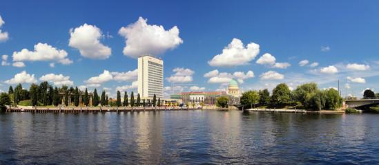Potsdam Hafen Panorama