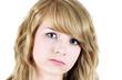 Sad or depressed teen
