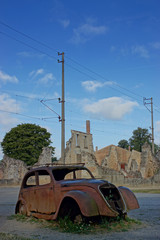 Oradour-sur-Glane, Village martyr, France