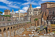 great iatlian landmarks - Roman forums