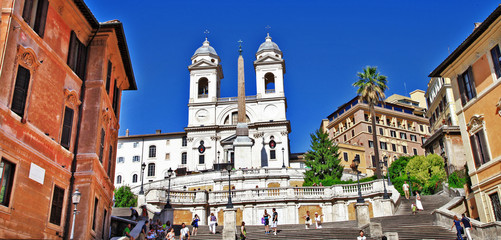 roman landmarks - Spanish steps