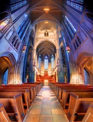 Heinz Chapel in Pittsburgh, Pennsylvania