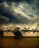 Fototapeta lotnictwo - wojskowy - Samolot