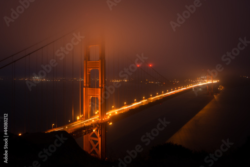 Golden Gate at Dusk