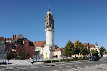 Reichenturm, Altstadt,  Wahrzeichen, Sachsen, Bautzen