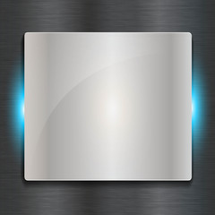 abstract steel vector background shield