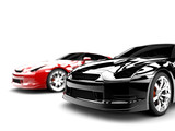 Fototapety Two cars