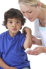 Bobo - Enfant  soigné à l'Infirmerie