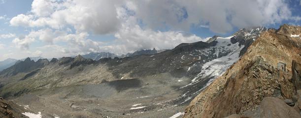 ghiacciaio di Preda Rossa dal passo di Corna Rossa