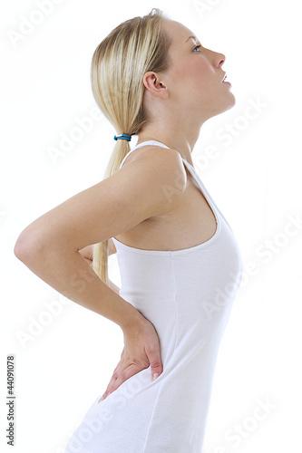 Mal de dos - Femme cambrée en AR
