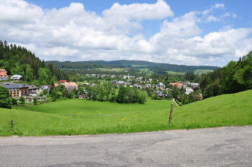 village in Schwarzwald, Germany