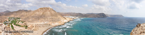Cabo de Gata in Almeria coast, Spain