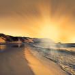 Fototapeten,strand,morgengetränk,reiseziel,abenddämmerung