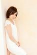 Beautiful young woman. Portrait of asian.