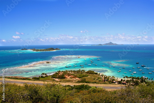 Leinwanddruck Bild Union Island, Saint Vincent and the Grenadines, The Caribbean