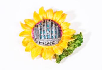 Italian magnet on the fridge