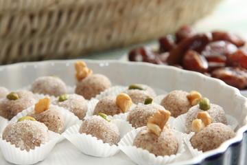 Arabische Mandeltropfen - Arabic dessert