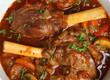 Lamb Shanks in Casserole Dish
