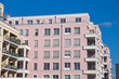 New pink townhouses