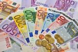 Fototapete Gewinn - Gewinnen - Geld / Kreditkarte
