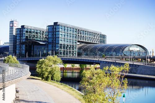 Aluminium Treinstation Hauptbahnhof Berlin