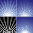 Star Burst Set - Abstract Background Collection