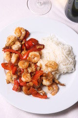 Shrimps & Ricenoodles
