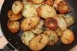Pommes de terre persillées - Graisse d'Oie - Friture