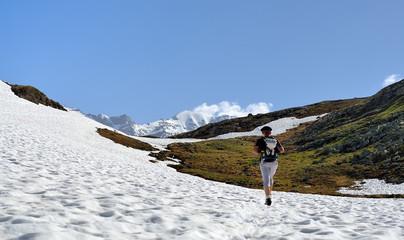 alpes,randonnée sportive,randonneur