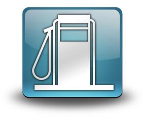 """Light Blue 3D Effect Icon """"Fuel Dispenser"""""""