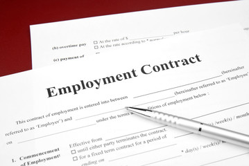 job employment contract