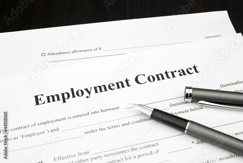 employment contract document form