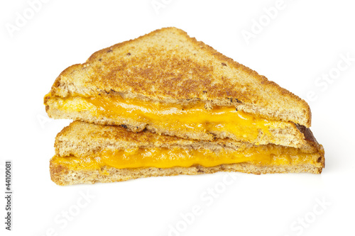 Traditional Homemade Grilled Cheese Sandwich