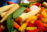 Frozen Assorted Vegetables - peas, corn, peppers and more
