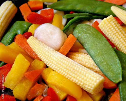 Frozen Assorted Vegetables - peas, corn, carrot and more