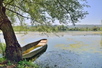 """""""Nane"""" barche sul lago di Posta Fibreno"""