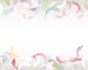 feather background
