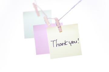 office objects note thank you!