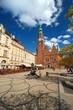 Wrocławski Ratusz w pogodny dzień