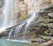 tortum waterfall , erzurum, turkey