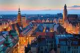 Fototapety Wrocławski rynek o zmierzchu