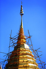 The Pagoda in Chiang Mai