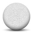 Kugel, Zahlen, 3D, Mathematik, Mathe, Muster, Geometrie, Pi