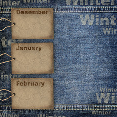 Calendar planning background