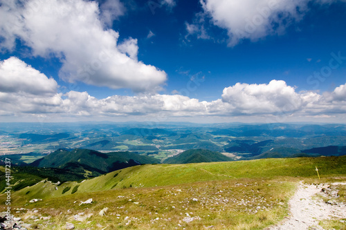 Mountain ridge-Nat. park Little Fatra-Slovakia/Europe