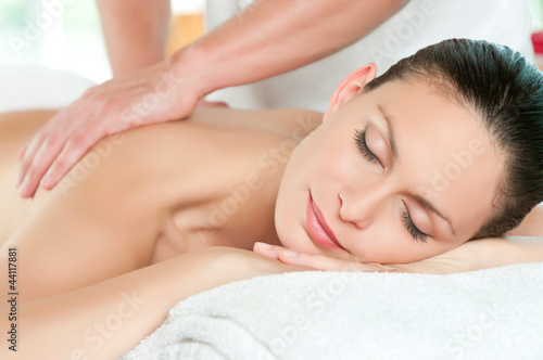 Leinwanddruck Bild Beauty spa treatment